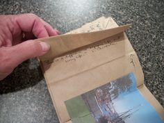 Turkey Tracks: Brown Paper Bag Book Project | Louisa Enright's Blog