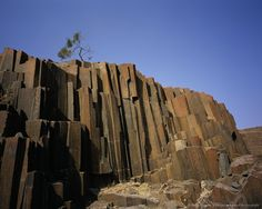 Organ Pipe Rocks near Outjo and Brandberg, Damaraland, Namibia