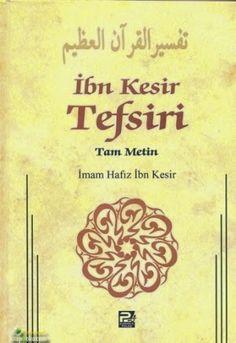 Hadislerle Kuran-ı Kerim Tefsiri - İbni Kesir Tefsiri PDF e-Kitap indir