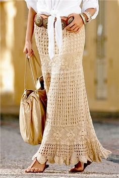 Top 10 Crochet Skirts 》》patterns