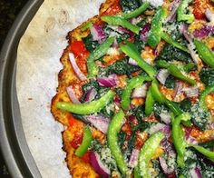 This is a nice flat crust. Paleo Pizza Crust Recipe | Paleo inspired, real food