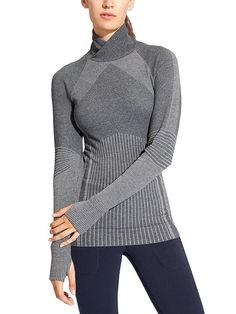 I like the patterns of this sweater and live to have active wear for trail runs...