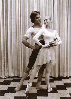 Patrick Swayze with wife Lisa Niemi