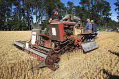 1938 KT Auto Combine Harvester. |