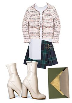 """Untitled #56"" by all-blvck on Polyvore featuring Burberry, J.Crew and Dareen Hakim"
