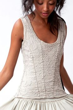 ANNA'S GARDEN CORSET - I love EVERYTHING Alabama Chanin!