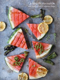 Grilled Watermelon w