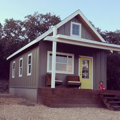 kanga cottage. 416 sq ft in south Texas. Plenty of space for a small family.