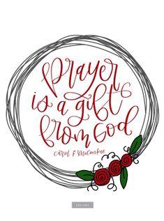 """Prayer Is a Gift Fr"