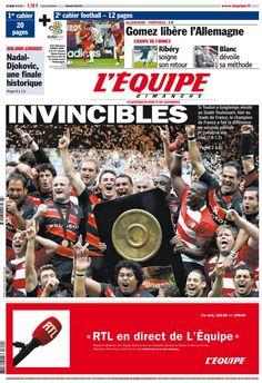 L'Équipe - Dimanche 10 Juin 2012 - N° 21151