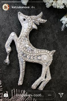 If you own valuable fashion jewelry such as diamond earrings, pendants, diamond rings, or other fine jewelry items, you can keep these items for a life time if you look after them. Bead Embroidery Jewelry, Beaded Embroidery, Beaded Jewelry, Brooches Handmade, Handmade Jewelry, Diamond Brooch, Diamond Rings, Feather Painting, Beaded Animals
