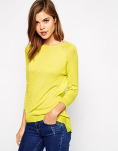 Warehouse Boxy Crew Neck Jumper