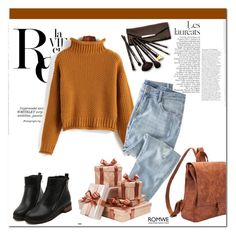 """romwe 8."" by igor89 ❤ liked on Polyvore featuring Borghese, Whiteley, Wrap and romwe"