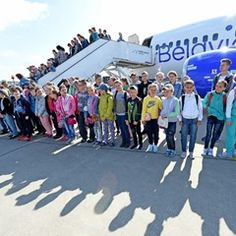 Children affected by Chernobyl disaster travel to Germany