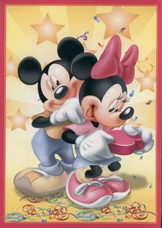 Minnie and Mickey Mouse Mickey Mouse Movies, Mickey Mouse Pictures, Mickey Mouse And Friends, Walt Disney, Disney Mickey Mouse, Disney Art, Mickey And Minnie Love, Mickey Minnie Mouse, Mickey Mouse Wallpaper