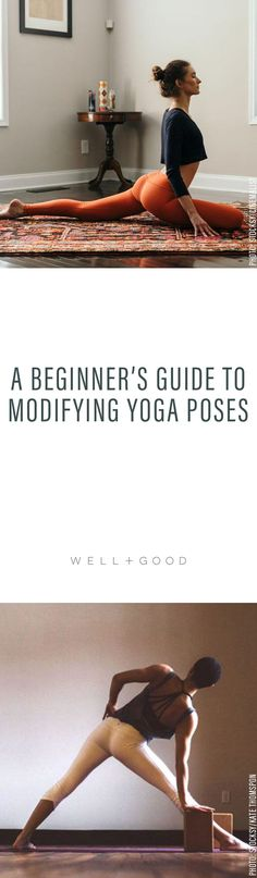 Modify Yoga Poses