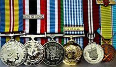 United Nations Peacekeeping Korean War NATO Medals