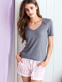 short shorts pjs - Google Search Victoria Secret Pajamas abc5a1be358c1