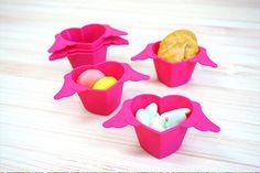 Angel Heart Food Mold (set of 6pcs)  - Kitchen