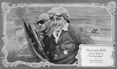 Wallace Reid as  'Dusty' Rhoades I Too Much Speed directed by Frank Urson, 1921
