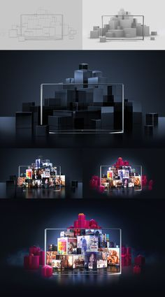 LG | FilmBox Live on Behance
