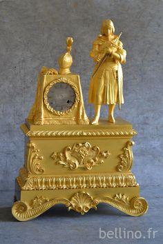 La pendule Jeanne d'Arc restaurée http://www.bellino.fr/blog/?p=955