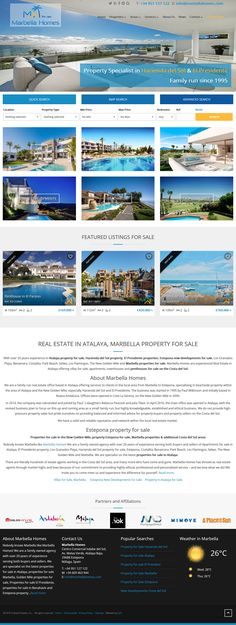 Marbella Homes is a family real estate office on the Costa del Sol. We specialise in properties for sale in Atalaya, properties for sale in Estepona.