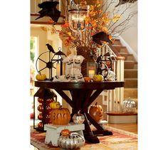 Boo Pumpkin Luminary | Pottery Barn | PUMPKIN linen bags