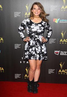 Bindi Irwin, the daughter of the late Crocodile Hunter Steve Irwin, looked all grown up at the AACTA Awards in Sydney on Jan. Steve Irwin, Terri Irwin, Celebrity Kids, Celebrity Photos, Aacta Awards, Irwin Family, Bindi Irwin, All Grown Up, New Instagram