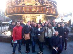 Foto de grupo de la delegación española en el encuentro europeo de empleados de Triodos Bank 2015.
