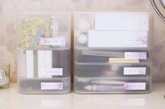 Poniendo orden en productos de belleza