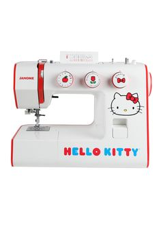 Hello Kitty Sewing Machine - want!