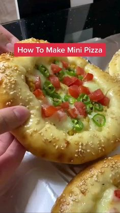 Cooking Recipes In Urdu, Vegetarian Snacks, Diy Food, Appetizer Recipes, Appetizers, Food Dishes, Food And Drink, Yummy Food, Mini Pizza Recipes