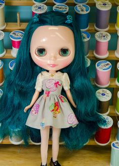 Plastic Fashion Blythe Dress, Macarons by PlasticFashion on Etsy