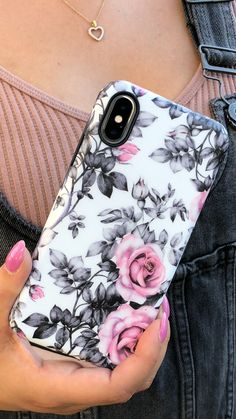 Chateau Rose from Elemental Cases. Shop cases for iPhone XS / X iPhone XS Max & - Iphone XR - Trending Iphone XR for sales - Chateau Rose from Elemental Cases. Shop cases for iPhone XS / X iPhone XS Max & iPhone XR now! Diy Phone Case, Cute Phone Cases, Iphone Phone Cases, Phone Covers, Iphone 8, Cool Iphone Cases, Accessoires Iphone, Aesthetic Phone Case, Mobile Cases