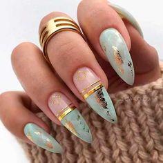 nails natural look - nails natural look ; nails natural look gel ; nails natural look acrylic ; nails natural look short ; nails natural look manicures ; nails natural look with glitter ; nails natural look almond ; nails natural look simple Stiletto Nail Art, Cute Acrylic Nails, Cute Nails, Pretty Nails, Cute Fall Nails, Manicure Nail Designs, Nail Manicure, Gel Nails, Acrylic Nail Designs