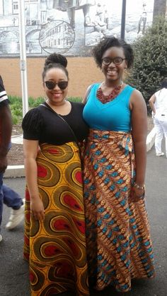 These ladies were some of the best dressed at Carlisle, Pa's 2015 Amani Festival.