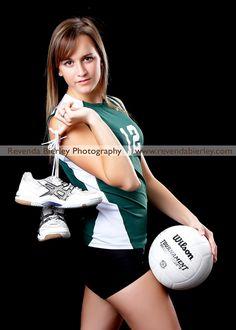 volleyball senior portrait