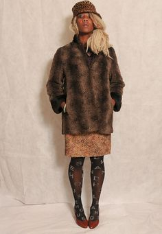 STYLISH 1960's Two Tone Brown Vintage Faux Fur Coat - lovethebaroness vintage South London, Fashion Videos, Faux Fur, Vintage Outfits, Fur Coat, Stylish, Brown, Jackets, Clothes