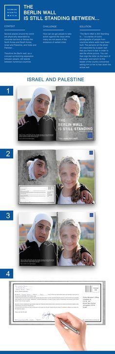 Human Rights Watch Berlin Wall Magazine Ad | http://www.gutewerbung.net/human-rights-watch-berlin-wall-magazine-ad/ #Advertising