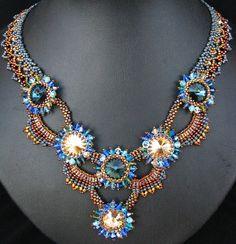 Aysel Moonlight necklace 1 by Cielo Design, via Flickr