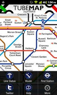 Tubemap - real-time update to your location based on GPS and network data Planner Apps, Route Planner, National Rail Map, Bus Times, London Underground Stations, Metro Map, Subway Map, New York Subway