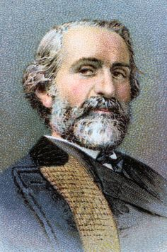 Giuseppe Verdi, 19th century Italian composer, 1914. Giuseppe Fortunino Francesco Verdi (1813-1901) is best remembered for his operas written between 1839 and 1893. From Musical Celebrities, a series of cards issued by WD & HO Wills. (Bristol & London, 1914). (Photo by Ann Ronan Pictures/Print Collector/Getty Images)