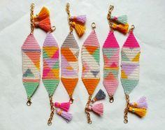 crochet bracelet  vestida de domingo shop