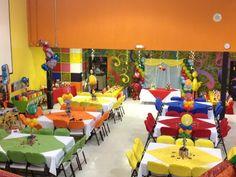 Monster Birthday Parties, Elmo Party, Mickey Party, Dinosaur Party, Dinosaur Birthday, Sesame Street Birthday Cakes, Sesame Street Party, Baby Boy 1st Birthday, 1st Boy Birthday