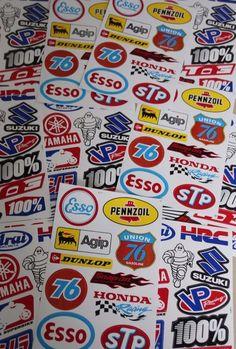 A4 SHEET MTX Racing Sticker Decals,MX_MTX_Racer Suziki Free Worldwide shipping