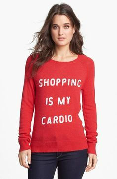 7727d6e048 Treat Yourself: Shopping Is My Cardio Sequin Sweater Női Divat, Carrie  Bradshaw, Cipők