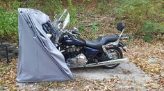 Motorcycle Shelter / Garage / Cover thebikeshield.com