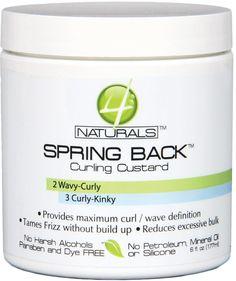 4 Naturals Spring Back Curling Gel 6 oz. (Pack of 6) >>> Click on the image for additional details.