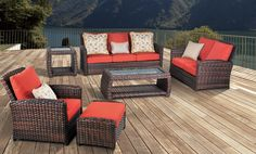 Surprising Facts about Resin Wicker Furniture Resin Wicker Furniture, Fire Pit Furniture, Wicker Sofa, Outdoor Furniture Sets, Outdoor Decor, Rattan, Furniture Ideas, Sunroom Decorating, Interior Design